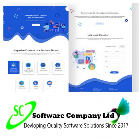 I will design photoshop web template and PSD webdesign