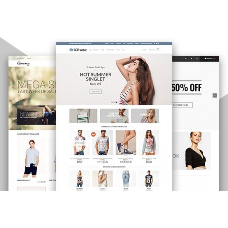 Create an Ecommerce Website, Online Store, Online Webshop